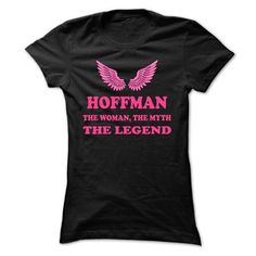 HOFFMAN, the woman, the myth, the legend - #country sweatshirt #sweatshirt girl. LIMITED TIME PRICE => https://www.sunfrog.com/Names/HOFFMAN-the-woman-the-myth-the-legend-bxbvoxkxvv-Ladies.html?68278