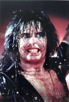 Hellion Blackie Lawless of W.A.S.P.   #TheHellion #BlackieLawless #wasp