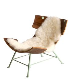 e4e18198f3 Icelandic Chair Design Furniture from Sheepskin by Lop Furniture-to lie