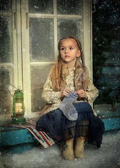 Волшебные сказки в Рождественских фотографиях детей - Ярмарка Мастеров - ручная работа, handmade