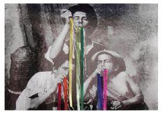 Astrid Nippoldt, Eating the Rainbow, 2010, carta su fotografia, courtesy The Gallery Apart http://www.looklateral.com/en/product/mixed-media-en/eating-the-rainbow/