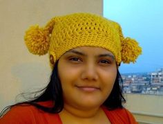 Designer Beanie Easy Crochet Tapering Hat Pattern Price: $4