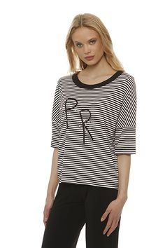Tops 404 The requested product does not exist. Spring Summer 2015, Black Stripes, Spring Summer Fashion, Rhinestones, Leaves, Range, Embroidery, Black And White, Detail
