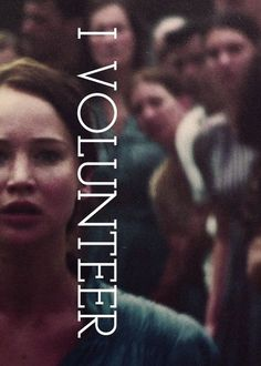 """I volunteer as tribute!"" (Sisterly Love is the deepest form) #TheHungerGames"