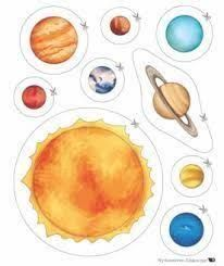 cutting activities for space theme Space Preschool, Space Activities, Preschool Education, Science Activities, Science Projects, School Projects, Solar System Activities, Physical Education, Solar System Projects