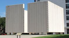 Dallas Architecture: JFK Memorial by Philip Johnson