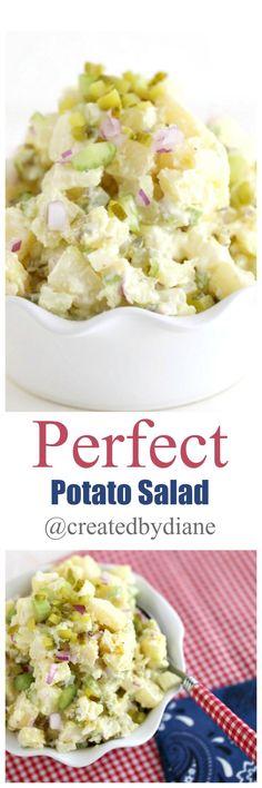 Perfect Potato Salad recipe /createdbydiane/