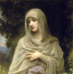 'Modestie' by William-Adolphe Bouguereau (1902)
