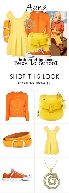 """""""Aang"""" by fofandoms ❤ liked on Polyvore featuring L.K.Bennett, Dooney & Bourke, Converse and LoveBrightJewelry"""