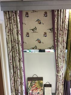 Our newest showroom display features Harlequin's beautiful Fauvisimo Collection