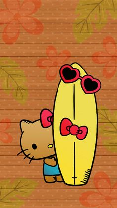 Hello Kitty Backgrounds, Hello Kitty Wallpaper, Hello Hello, Sanrio Hello Kitty, Hello Kitty Pictures, Black Kitty, Sanrio Characters, Rilakkuma, Lock Screen Wallpaper