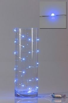 mood lighting - throw a tangle of fairy lights into a big glass vase cakes & party ideas ...