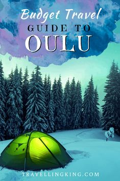 You can visit Oulu on a budget. In fact, we put together this budget travel guide to Oulu, to help you to do just that! Budget Travel, Travel Guide, Finland Travel, Island Park, Arctic Circle, Europe Destinations, Travel And Leisure, How To Take Photos, Luxury Travel