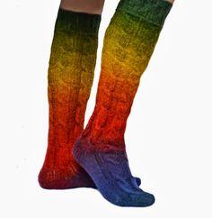 2013 Kışlık Örgü Çorap Modelleri