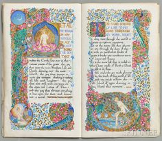 Bayes, Jessie (1876-1970) Illuminated Manuscript, Six Poems from Gitanjali by Rabindranath Tagore. London, 1917. | Auction 2891T | Lot 1131 | Estimate $15,000-$17,000