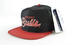 Chicago Bulls Script Snapback Hat – F As In Frank Vintage