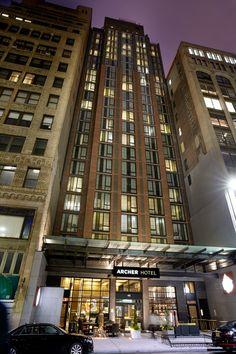 Archer Hotel New York in New York, NY | #hotelweeknyc #garmentdistrict #nyc