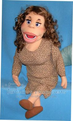 Patricia puppet, Puppet for sale.