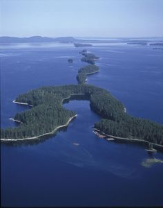 As well as forests, we also have lots of lakes in Finland. Aerial view of lake Pielinen, Finland. Lappland, Europe, Outdoor Life, Helsinki, Aerial View, Beautiful Places, National Parks, Scenery, Around The Worlds