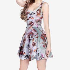 Women's Sleeveless Midi Casual Flared Skater Dress Skater Dress, Daily Wear, Casual, How To Wear, Dresses, Fashion, Vestidos, Moda, Fashion Styles