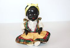 Small Rare Vintage Pedigree Doll Made in England by MEMsArtShop