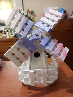 #33 Pastel Windmill (SOLD)