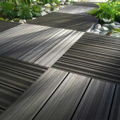 Dallage en bois composite - Castorama