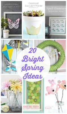 20 Fresh and Bright Spring Ideas I Heart Nap Time | I Heart Nap Time - Easy recipes, DIY crafts, Homemaking