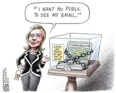 DEFEAT OBAMA TOONS: What about Hillary's locked box?  Bet Bill knows s...