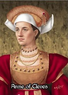 Anne of Cleves by reconstruction artist M.A. Ludwig ᘡղbᘠ