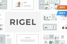 Rigel Presentation Template by SlideStation on @creativemarket