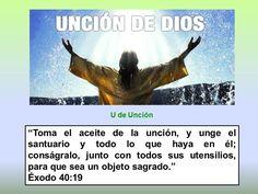 Unción de Dios #biblia #interesante #libros #nuevotestamento #Dios #jesucristo #jesus #viejotestamento
