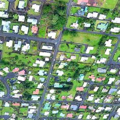 Houses - tiny little boxes 2 of 3  #Fly #high #flying #Hawaii #Hilo #grid #landscape #neighbours #pattern #town #wonder #bigisland #island #home #travel #holiday #aloha #streets #littleboxes #Houses #sigmamoments #Helicopter #texture #photography #nikon #nikondf #sigma #somartcreations