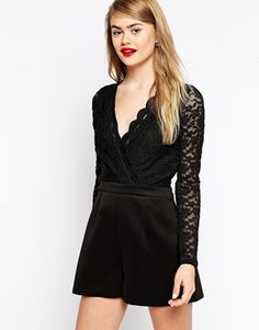 ASOS+Playsuit+with+Long+Lace+Sleeve