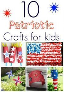 Labor Day Crafts For Kids Patriotic