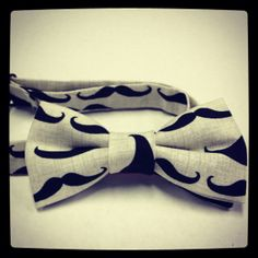 Mustache bow tie adjustable  #munire #pinparty #MadeinUSA