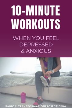 At Home Workouts For Women, Easy At Home Workouts, Home Exercise Routines, Coping With Depression, Overcoming Depression, Depression Help, Family Fitness, Senior Fitness, Anxiety Tips