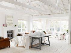 The White cabin: genieten van wit, witter, witst