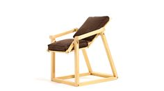 cleanlean flat-pack chair reclines with your body posture