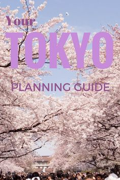 Your Ultimate Planning Guide for Tokyo Japan