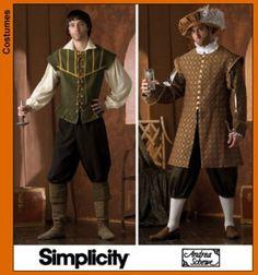 Toute+la+gamme+des+patrons+déguisements,+costumes+-Simplicity-
