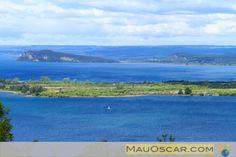 Dirigindo pelo entorno do #LakeTaupo na #NovaZelândia