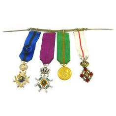 Edwardian Regalia Medals