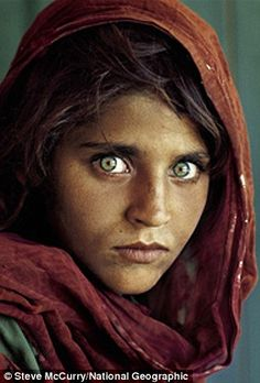 Sharbat Gula shot to global fame on the cover of National Geographic  but a more recent im...