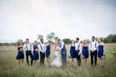 One of my fav pics so far - With our Bridesmaids and Groomsmen!  Photo by…