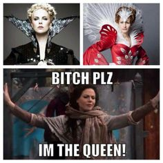 Bitch, please. Lana Parrilla is our Evil Queen!