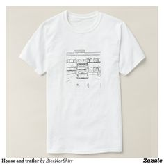 House and trailer T-Shirt T Shirt Photo, Cool T Shirts, Shirt Style, Shop Now, Fitness Models, Mens Fashion, Casual, Mens Tops, How To Wear