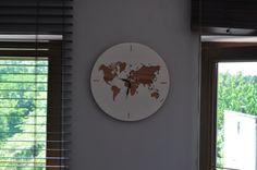 Wooden clock Drewniany zegar