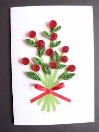 """Résultat de recherche d'images pour """"fête des mères carte fleurs en papier"""""""
