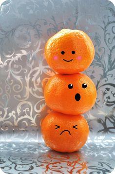 .Cute Oranges.         t